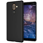 Flexi Slim Stealth Case for Nokia 7 Plus - Black (Matte)